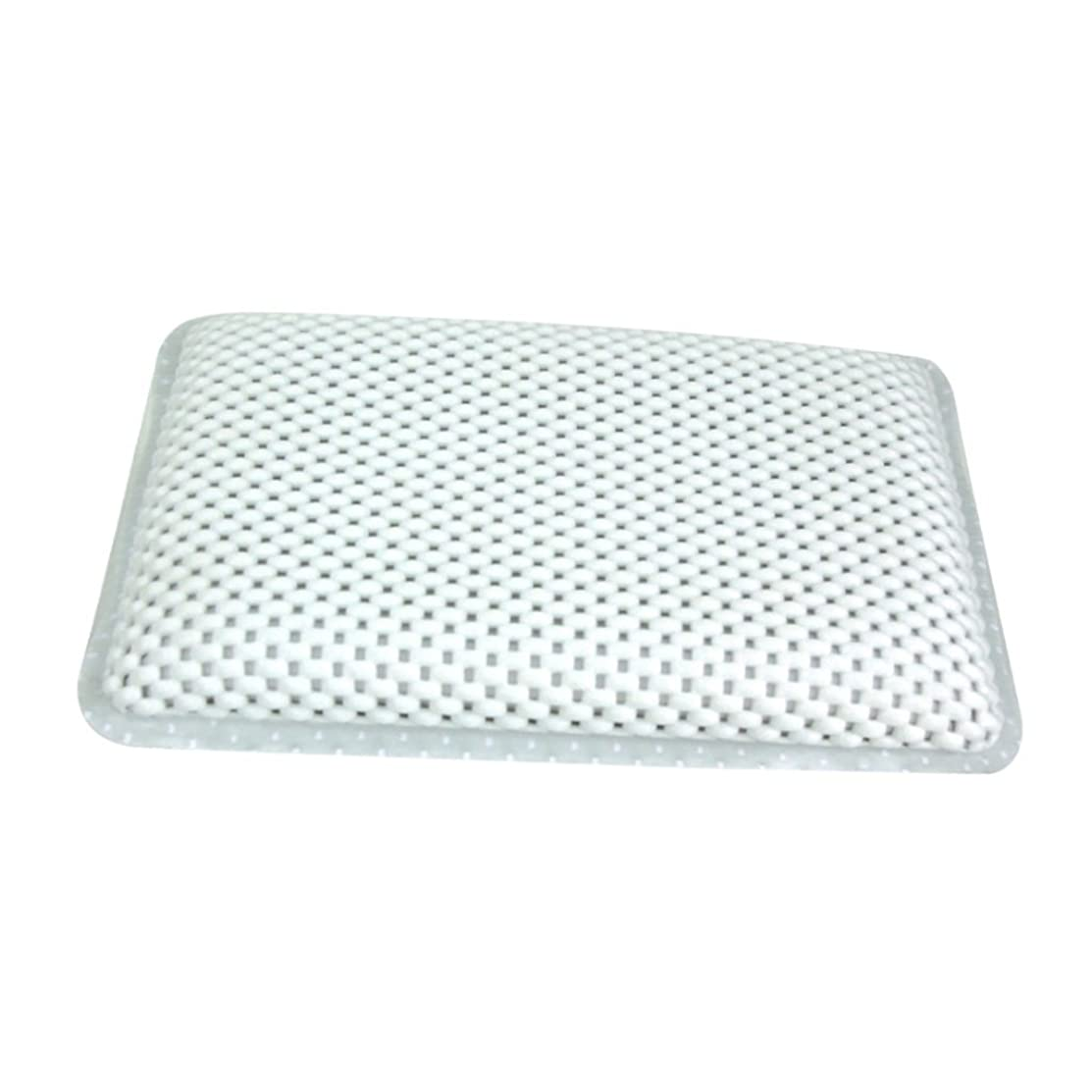 ゆるく未就学としてΛV 高品質 ソフト 浴槽枕 ノンスリップ クッション付き バスタブ スパバスピロー 吸盤付き ヘッドレスト