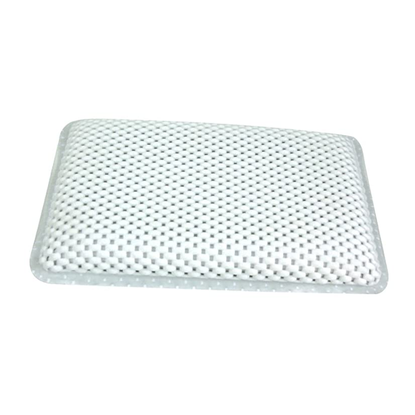 はちみつ勢い証明書ΛV 高品質 ソフト 浴槽枕 ノンスリップ クッション付き バスタブ スパバスピロー 吸盤付き ヘッドレスト