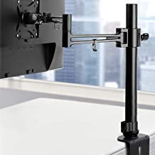 Artiss Monitor Arm Mount Computer Screen Monitor Desk Mount Stand Heavy Duty Fully Adjustable Single Arm Stand Bracket wit...