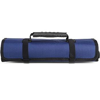 KULIWA BAG02DB Estuche Para Herramientas Enrollable Bolsa de Reparación a Prueba de Agua (Azul): Amazon.es: Bricolaje y herramientas
