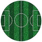 Dekora - Fußball Deko Tortenaufleger aus Esspapier