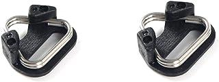 HomyWord ochraniacz ochraniacz podkładka ze stali nierdzewnej pierścień zaczepiający aparat pasek trójkątny dzielony pierś...