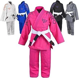 pink judo suit