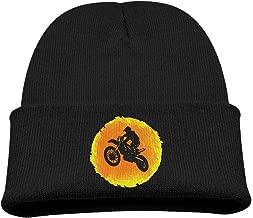 Banana King Art Motocross Baby Beanie Hat Toddler Winter Warm Knit Woolen Cap for Boys/Girls