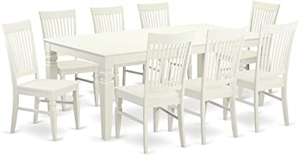 Best white 9 piece dining set Reviews