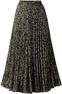 Best green leopard print skirt Reviews