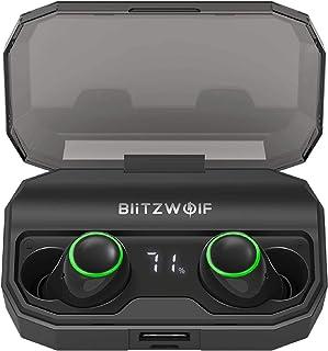 BlitzWolf TWS Bluetooth 5 in-Ear Smart Touch 2600mAh Earphone Earbud Headphone BW-FYE3 / BW-FYE3S (BW-FYE3S)