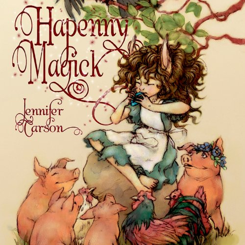 Hapenny Magick audiobook cover art