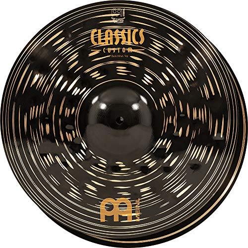 "MEINL Cymbals マイネル Classics Custom Dark ハイハットシンバル 16"" Hihat ペア CC16DAH 【国内正規品】"