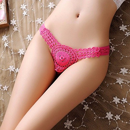 RangYR Women Thong Sexy Lace Panties Ladies Hollow out Underwear Brief