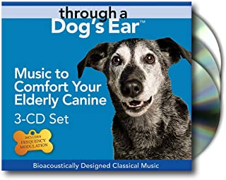 iCalmDog Through a Dog`s Ear: 3-CD Set, Music to Comfort Your Elderly Canine