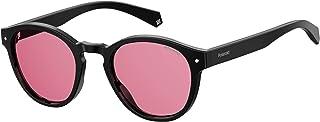 نظارة شمسية بعدسات مستقطبة موديل PLD 6042 807 0F من بولارويد، لون اسود