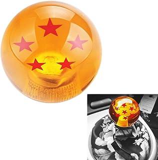L&U 54MM Universal Dragon Ball Z Schaltknauf mit 3 Adaptern für die meisten Fahrzeuge,5STARS