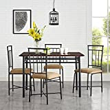 MS furniture Transitional 5 Piece Dining Set