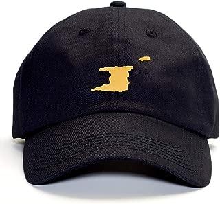 Island Gold DAD HAT : Trinidad and Tobago