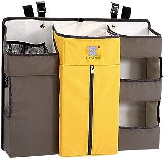 Organizador de pañales Sunzit para bebé organizador multifunción para colgar en la mesita de noche bolsa de almacenamient...
