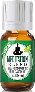 Meditation Blend Essential Oil - 100% Pure Therapeutic Grade Meditation Blend Oil - 10ml