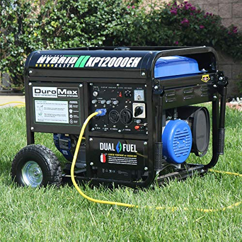 Duromax Xp12000eh 12000 Watt Dual Fuel G Buy Online In El Salvador At Desertcart
