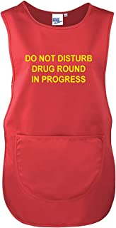 Workwear World WW173 Cleaning in Progress Front//Back Printed Text Cleaning Housekeeping Tabard in Green