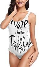 One Piece Swimwear for Women Simple Modern Red Dog and Heart Cartoon Bikini Top