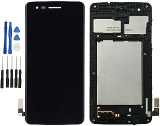 iXuan para LG K8 (2017) Aristo X240 M210 MS210 US215 M200N Pantalla Táctil LCD con Marco Asamblea (Negro)