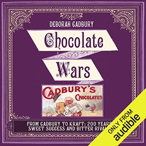 Chocolate Wars audiobook cover art