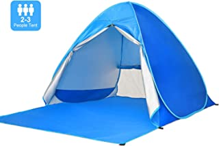 Easy Pop Up Beach Tent Sun Shelter Portable Baby Canopy Quick Instant Automatic Sport Umbrella Sun Shade