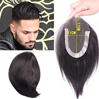 yuye-xthriv Fashion Quiff Men Wig Natural Color non-toxic and non-odorless synthetic Human Hair Party Club Bar Cosplay Hairpiece for parties, weddings, dating, and any other occasion Natural Color