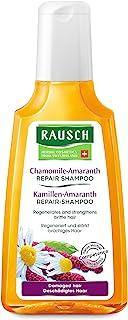 Rausch - Shampoo Riparatore alla Camomilla e all' Amaranto per Capelli Danneggiati, 200 ml