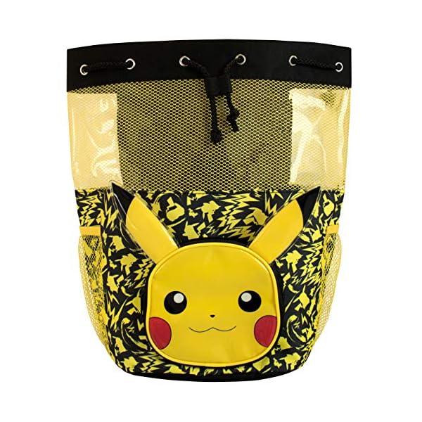 61n4f11rIFL. SS600  - Pokemon Bolsa de Natación para Niños Pikachu