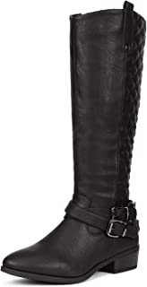 DREAM PAIRS Women's Winter Knee High Boots