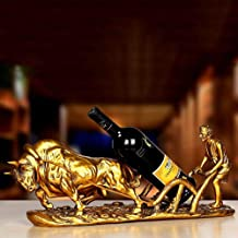 Wine Rack, European Vintage Resin Farming Cattle Wine Rack Auspicious Ornaments Personality Crafts Home Gift Wine Cabinet ...