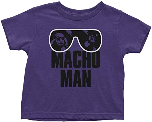 high quality WWE online Authentic Wear Macho Man Randy Savage Toddler outlet online sale T-Shirt Multi online