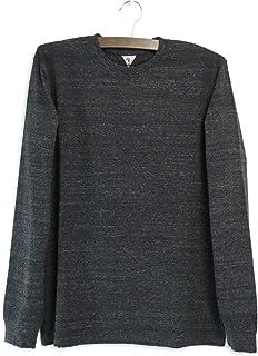 [フィルメランジェ] DOLLY2 長袖Tシャツ ドーリー2 カットソー クルーネック オーガニックラフィー天竺 メンズ コットン 日本製 1003021