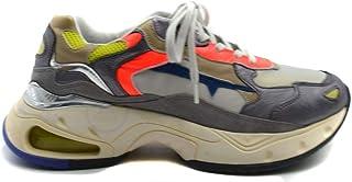 Luxury Fashion   Premiata Men MCBI39474 Multicolor Leather Sneakers   Season Outlet