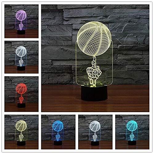 The New Apple - Lámpara LED de acrílico con luz LED y luz de noche pequeña, interruptor táctil, luz LED, luz de noche, batería externa, lámpara de mesa, P, cumpleaños, regalos de Navidad