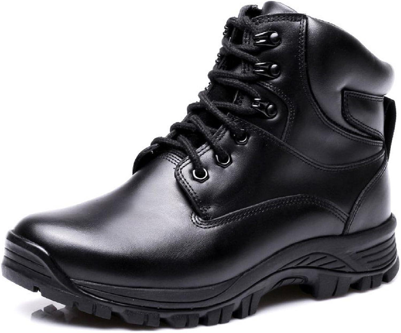 Homme Hiver De plein air Plus de cachemire Bottes de neige Bottes hautes Garder au chaud Confortable Chaussures en cuir Antidérapant AugHommester les chaussures Chaussures EUR TAILLE 38-46