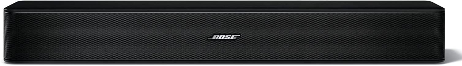 Best Bose Solo 5 TV Soundbar Sound System with Universal Remote Control, Black Reviews