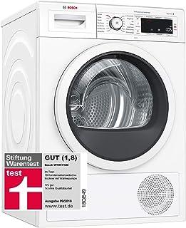 Bosch WAY287W5 HomeProfessional Waschmaschine Frontlader / A / 89 kWh/Jahr / 1400 UpM / 8 kg / Weiß / Fleckenautomatik Plus / Trommelreinigung mit Erinnerungsfunktion