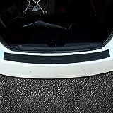 Protector del paragolpes trasero del coche, Protector del alféizar de la puerta flexible de goma universal Para ajustes en la mayoría de los autos (90cm)