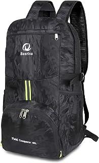 0d0e312023 Besrina 40L Sac à Dos léger Voyage Packable, Imperméable Sac Sport pour  Camping randonnée Trekking