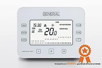General ABR-320 SET Programlanabilir Kablosuz Oda Termostat