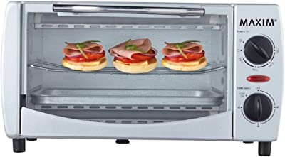 Mini Oven Electric 9 Litre Toaster 60 Min Timer Toast Grill for Home Caravan 1000W