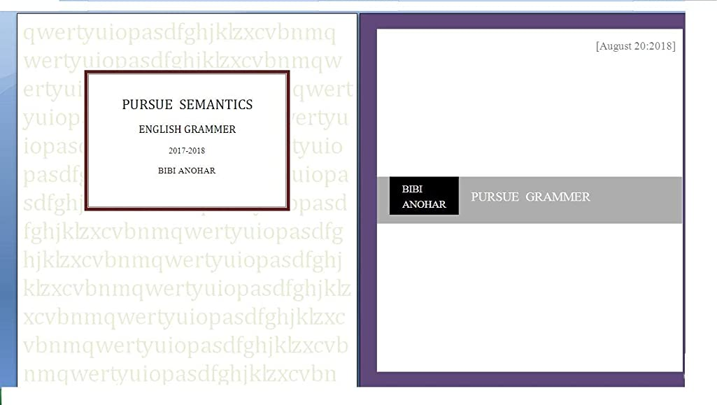 日食伝染病負担PURSUE  SEMANTICS: English (English Edition)