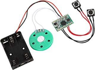 Recordable Voice Module for DIY Greeting Card, 60-Second Recording Playback DIY Voice Greeting Card Module, Suitable for C...