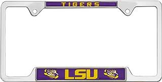 AMG Auto Emblems All Metal NCAA Mascot License Plate Frame (LSU)