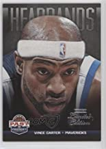 Vince Carter #1/5 (Basketball Card) 2012-13 Panini Past & Present - Headbands - Limited Edition #4