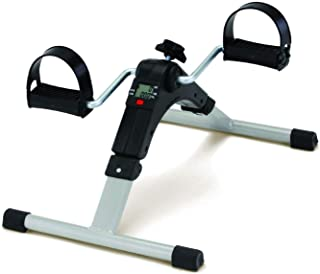 Device Mini Pedal Exercise Cycle Fitness Bike for Exercise & Weight Loss with Digital Display of Many Functions, Ready to ...