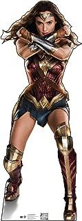 Advanced Graphics Wonder Woman Life Size Cardboard Cutout Standup - Justice League (2017 Film)