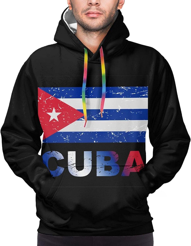 Hoodie For Mens Womens Teens Cuba Flag 3d Printed Hooded Sweatshirt